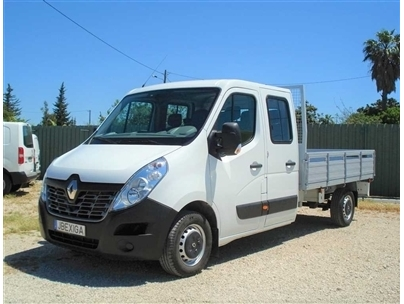 Renault Master IV 2.3DCi-125cv Cab Dupla