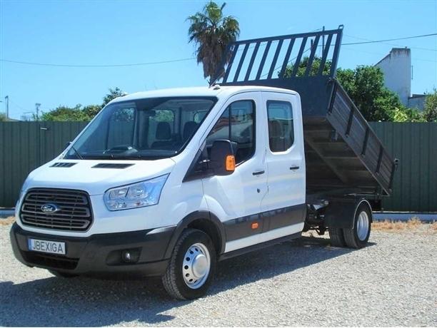 Ford Transit Cab Dupla-Tribasculante