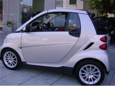 Smart Fortwo Cabrio 0.8 Cdi 45Cv 1Dono Interior Red