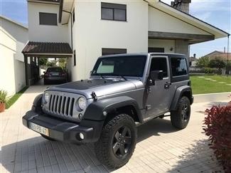 Carro usado, Jeep Wrangler 2.8CRD 200CV IVA Dedutível