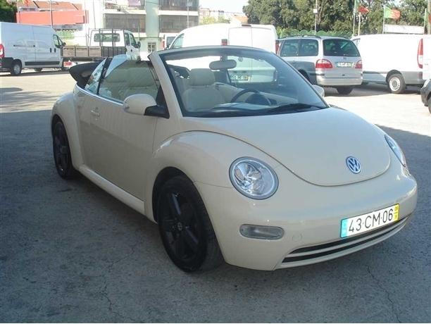 Volkswagen Beetle Cabrio 1.6 Top Couro (102cv) (2p)