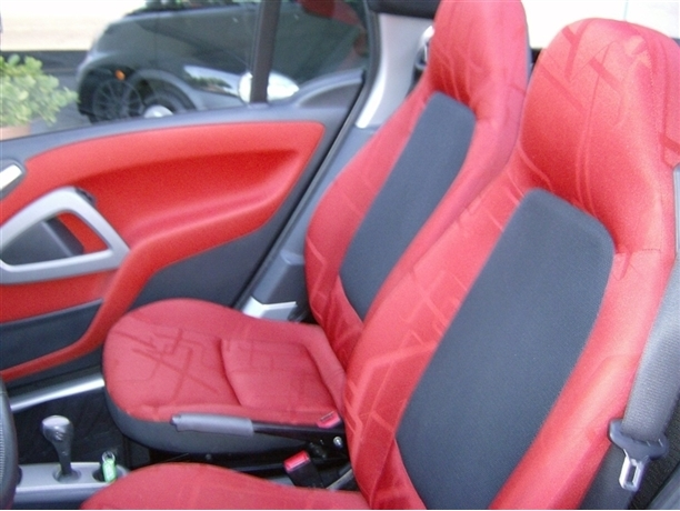 Smart Fortwo Cabrio 0.8 Cdi 45Cv 1Dono Interior Red Impecável 2007/07